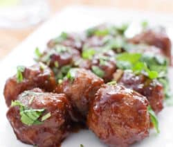 slow cooker maple meatballs recipe