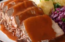 slow cooker pork sauerbraten recipe