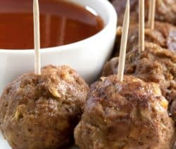 slow cooker easy maple meatballs recipe