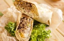 slow cooker pork burritos recipe