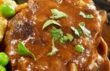 pressure cooker salisbury steak recipe