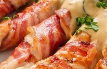 bacon-wrapped chicken breasts recipe