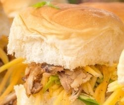 slow cooker kalua pork sliders recipe