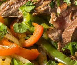 slow cooker traditional beef fajitas recipe