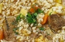slow cooker lamb and barley soup recipe